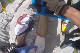 Rescate de un senderista en el Torrent de Pareis