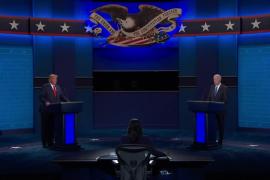 Trump y Biden aparcan el caos de la campaña en un debate sosegado que no deja un claro vencedor