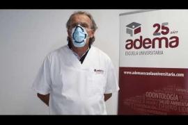 ADEMA-UIB patenta un revolucionario dispositivo de cierre de las mascarillas para alto riesgo