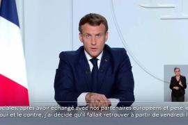 Macron anuncia un nuevo confinamiento en toda Francia