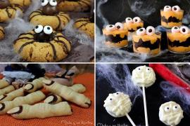 Cuatro recetas dulces para Halloween