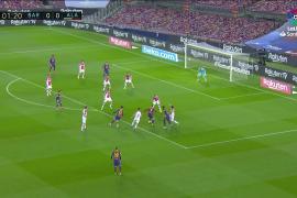 El Barcelona golea al Alavés