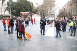 Manifestación de 'La Resistencia' en Palma