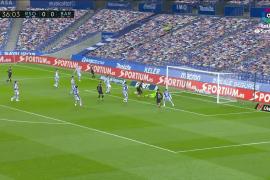 Resumen de la Real Sociedad-Barcelona