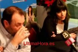 Maribel Verdú y Antonio Molero, en Palma