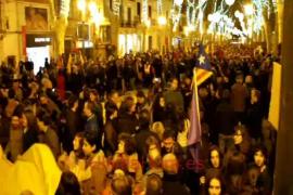 Manifestación del 31D