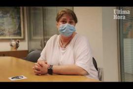 Joana Maria, paciente con COVID persistente