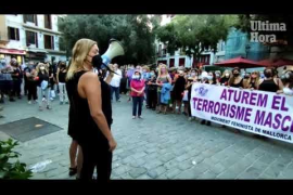 Concentración por las niñas desaparecidas en Tenerife