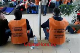 Encierro de trabajadores en la sede de Endesa