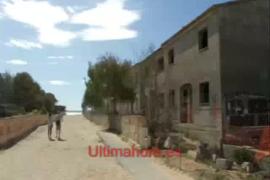 Los apartamentos de ses Covetes, reducidos a escombros