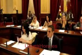 Los nuevos consellers se estrenan en el Parlament