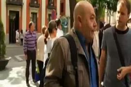 Juan Pablo Wert da clase en la calle