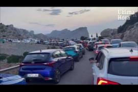 Caos en la carretera de Formentor