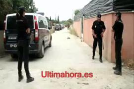 Operación antidroga en el poblado del Secar de la Real