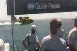 Los hidroaviones repostan en Palma