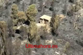 Incendio en la Tramuntana