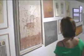 Exposición de las obras en la galería Ferran Cano