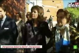 Ana Botella, abucheada