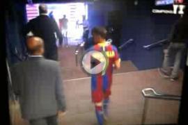 David Villa se presenta ante el Barça