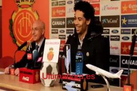 Presentación de Iriney como jugador del Mallorca