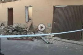 Un herido grave tras una explosión de gas en Pina