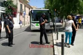 Atropello de un ciudadano por un autobús de la EMT