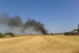 Incendio en es Molinar