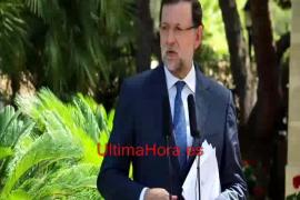 Rajoy explica los temas que ha tratado en su reunión con Felipe VI