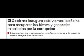 UPyD propone a Matas y Barcenas como dirigentes de la oficina anticorrupción.
