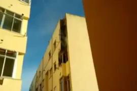 Desalojado un edificio de Palma por un incendio