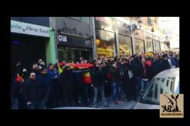 Escrache policial al concejal de Seguridad de Madrid