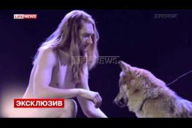 El representante bielorruso a Eurovisión quiere actuar desnudo y rodeado de lobos