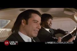 Carlos Roca dobla un momento en el que Travolta quiere ser menorquín