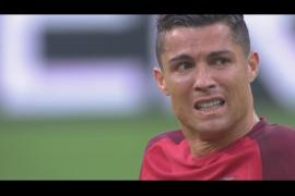 Cristiano Ronaldo se retira de la final de la Eurocopa lesionado