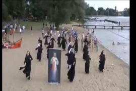 Flashmob dedicado al Papa Francisco