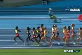 El gesto deportivo de dos 'grandes' del atletismo