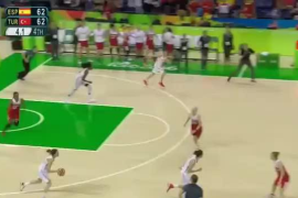 Canasta de Anna Cruz que da el pase a España a semifinales en Río