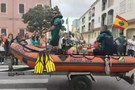 La Guardia Civil celebra su patrona en Inca