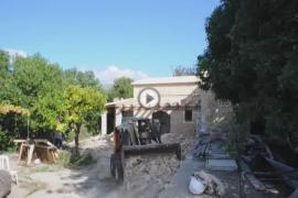 Derribo de la casa ilegal de Eugenio Hidalgo