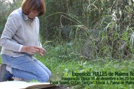 Malena Roig expone 'Fulles' en el Espai Spaint de Palma