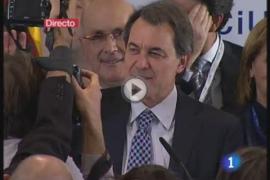 Discurso de Artur Mas tras la victoria