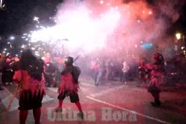 Concurrido Correfoc en Palma