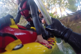 Rafting en las Font Ufanes
