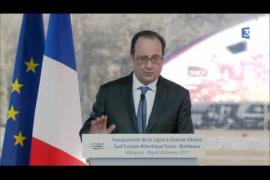 Un gendarme dispara su arma por accidente durante un discurso de Hollande