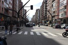 Atraco con rehenes en Gijón
