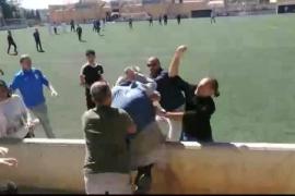 Batalla campal en un partido de fútbol infantil en Alaró