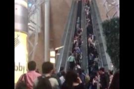 Avería en escaleras mecáncias provoca una veintena de heridos