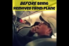 Grabación de los instantes antes de que David Dao fuera expulsado de un avión de United Airlines