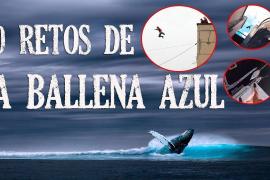 Los retos de 'la ballena azul'