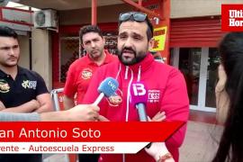 El gerente de Autoescuela Express habla tras los registros